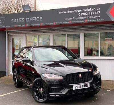 2018 Jaguar F-Pace R-SPORT BLACK EDITION AUTO AWD ESTATE Diesel Automatic • 23,495£