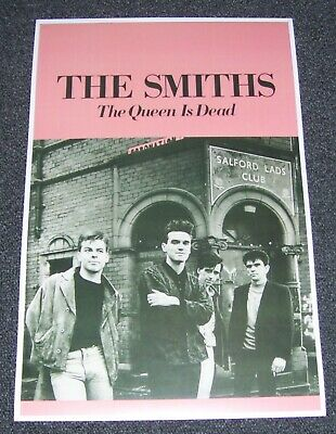 $10 • Buy NEW THE SMITHS THE QUEEN IS DEAD Rock Concert Poster