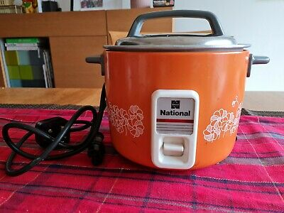 £29 • Buy Vintage Rare Orange NATIONAL (Panasonic) Rice Cooker 3 Cup -Spares And Repairs