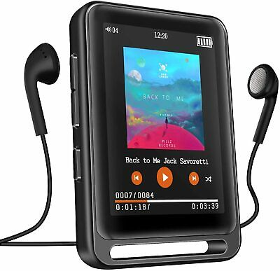 MP3 Player, Searick 16G MP3 Player With Bluetooth 4.2, 2.4  LCD Portable Player • 27.99£