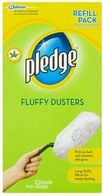 Pledge Fluffy Dusters Refills (5 Per Pack) Multiple Pack Sizes Available • 6.29£