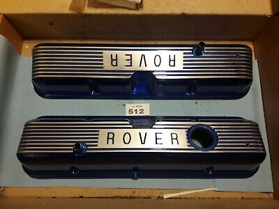 Rover  V8 P6 Candy Blue Rocker Covers Hot Rod  • 95£