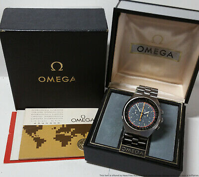 $ CDN2431.08 • Buy Vintage Omega Speedmaster Mark II Chronograph Mens Watch Box Papers