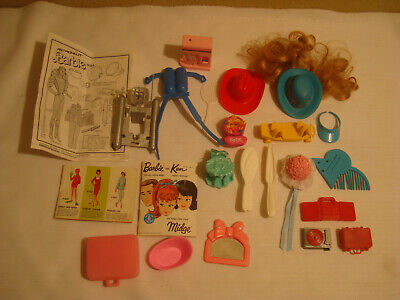 $ CDN12.63 • Buy Collection Of Vintage Barbie Accessories