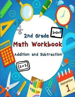 $ CDN16.05 • Buy 2nd Grade Math Workbook - Addition And Subtraction - Ages 7-8 By Nisclaroo (Engl