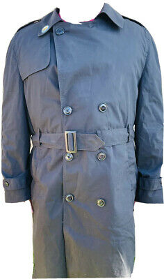 $39.99 • Buy US Army Military Trench Coat Rain Jacket Removeable Liner Men 44R Black. D5