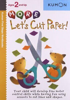 £19.99 • Buy Let?s Cut Paper! (Kumon First Steps Workbooks) By Kumon Book The Cheap Fast Free