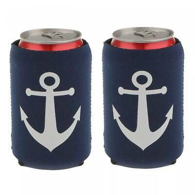 £4.97 • Buy Anchor Neoprene Can Cooler Sleeve Holder Beer Cosy Sleeve Wrap Party Novelty