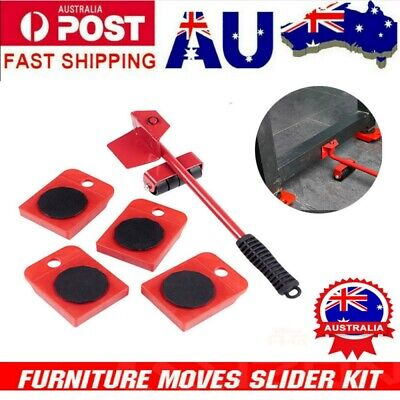 AU17.99 • Buy Heavy Roller Move Tool Furniture Lifter Set Moving Wheel Mover Sliders Kit AU