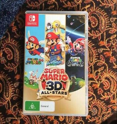 AU25.88 • Buy Super Mario 3D All-Stars Switch Game