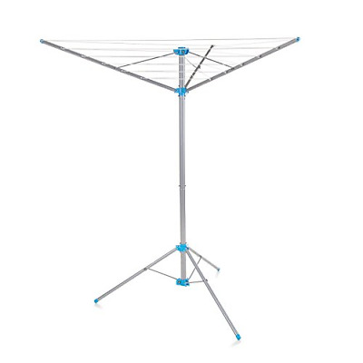 Minky Freestanding Indoor/Outdoor Airer With 15 M Drying Space, Metal, Silver • 30.25£
