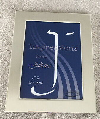 £5 • Buy Sliver Plated Photo Frame. Impressions By Juliana.