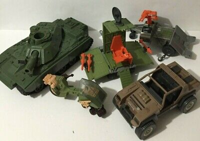 $ CDN75 • Buy Vintage Gi Joe Vehicle Lot Vamp Mark Ii, Mobat, Recon Sled, Coastal Defender, Ro