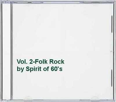 Spirit Of 60's - Vol. 2-Folk Rock - Spirit Of 60's CD JIVG The Cheap Fast Free • 20.98£
