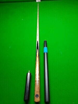 Hand Made 1 Piece Ash Woods Classic Custom Made Snooker Cue And Extensions  • 31£