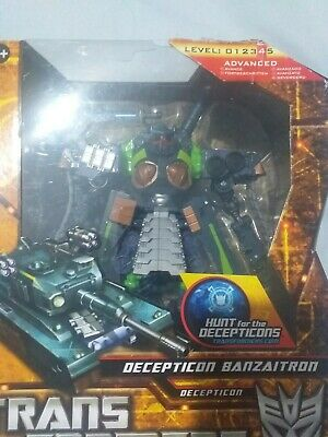 Transformers Hunt For The Decepticons Banzaitron Boxed Voyager Bludgeon • 45£