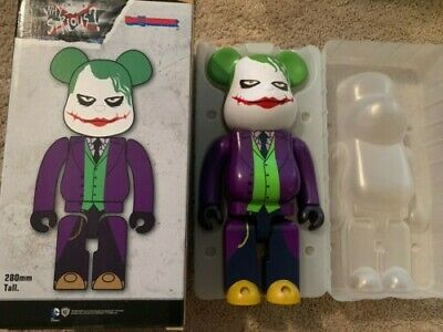 $234 • Buy Medicom Be@rbrick DC Batman The Dark Knight 400% Joker Why So Serious Bearbrick