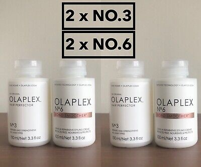 AU165 • Buy Olaplex No. 3 Hair Perfector And No. 6 Bond Smoother 100ml (2 X SETS)