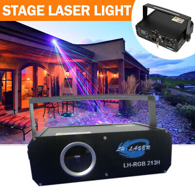 AU519 • Buy ILDA SD Card Stage Laser Light 1W RGB Animation DJ  Party Light 1000MW 30K