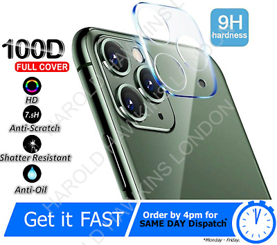 £3.45 • Buy 9H Camera Lens For IPhone 12, 11 Pro MAX Case Protector Tempered Glass Cover