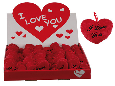 I Love U Small Red Heart Cushion Valentines/Mothers Day Love Romantic Cute Gift • 3.99£