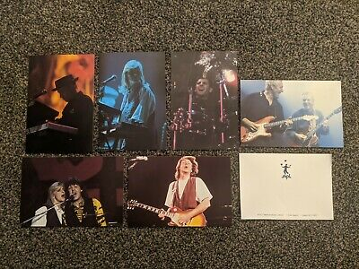 Paul Mccartney The Beatles 1989 World Tour Promo Postcards From Fan Club / Mpl • 0.99£