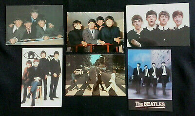 The Beatles Postcards - Set Of 6 • 1.35£