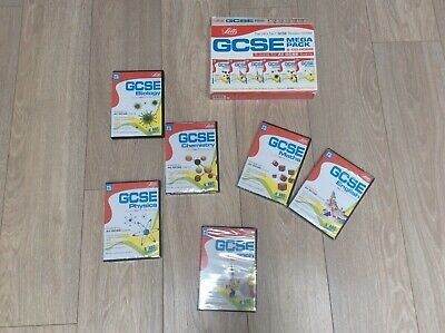 GCSE CD's French, Science, Maths And English • 5.99£