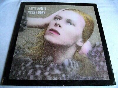 DAVID BOWIE ~ HUNKY DORY ** 1971 German RCA LP FULLY LAMINATED SLEEVE. • 10.50£