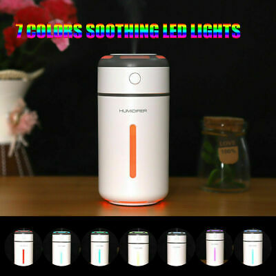 AU18.98 • Buy Portable Car USB LED Air Humidifier Diffuser Essential Oil Aroma Mist Purifier