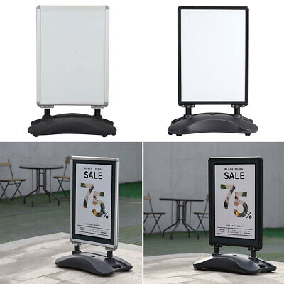 Pavement Sign Poster Display Stand Advertising Board Shop Cafe With Waterbase • 95.95£