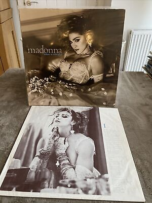 1984~Madonna~Like A Virgin~Vinyl LP Album~Original 🇩🇪German Pressing • 5£