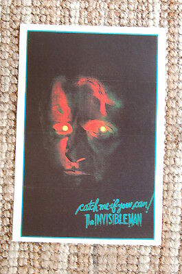 $ CDN3.82 • Buy The Invisible Man Lobby Card Movie Poster #1