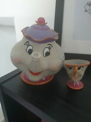 Disney 4049622 Traditions Mrs Potts And Chip Sculpture • 11.99£