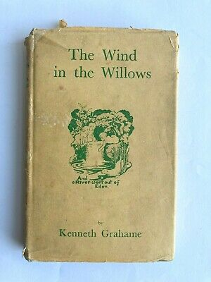 The Wind In The Willows By Kenneth Grahame, 1943 With Dust Jacket Hardback • 7£