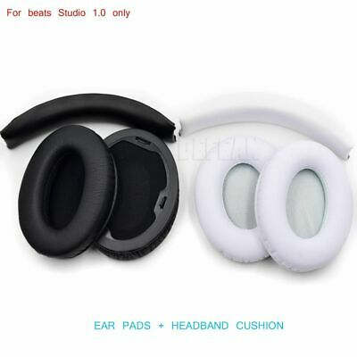 Ear Pads Cushions 1 Set Replacement For Beat By Dr Dre Studio 1.0 Headsets Wired • 19.26£