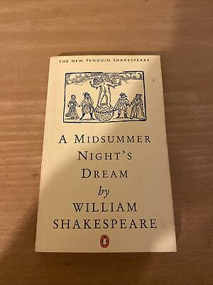 A Midsummer Night's Dream By William Shakespeare (Paperback, 1970) • 0.99£