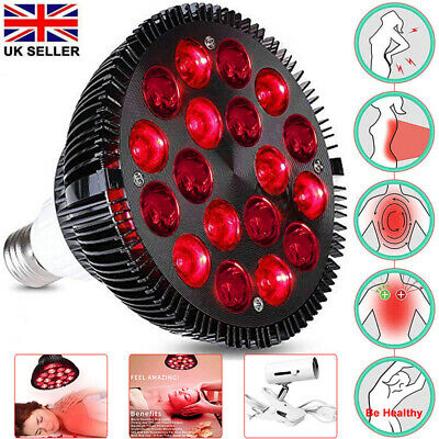 Infrared Therapy Light Bulb Combo Red LED Lamp For Skin Pain Relief  18W 54W • 31.99£