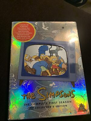 The Simpsons - Series 1 - Complete (DVD, 2001, 3-Disc Set) • 2.99£