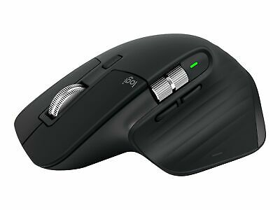 AU286.40 • Buy Logitech MX Master 3 Mouse Laser 7 Buttons Wireless Bluetooth 2.4 GHz 910-005710