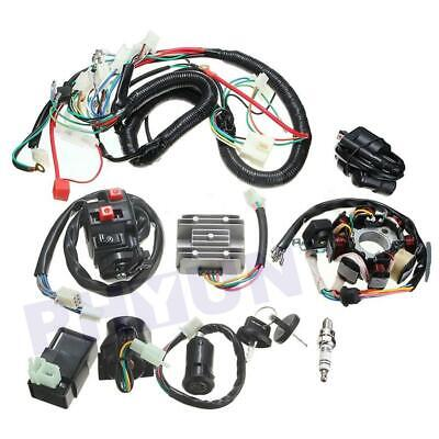 $59.89 • Buy Motorcycle Stator CDI Coil Electric Wiring Harness Wire Loom Assembly Coil CDI