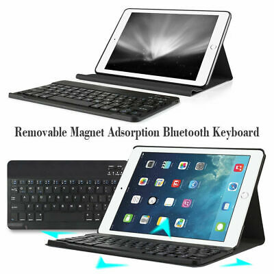 2 In 1 Wireless Keyboard Leather Case Cover For Apple IPad 2017 Air 2 Pro 9.7  • 30.23£