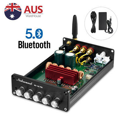 AU96 • Buy HiFi Bluetooth 5.0 Digital Amplifier Stereo Receiver 2.1 Channel Home Audio Amp