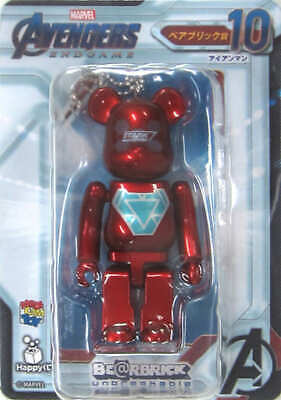 $85.31 • Buy Trading Figure Be Rbrick -Bear Brick- 100 Iron Man With Ball Chain Happy Lottery