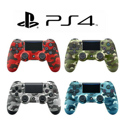 NEW PS4 Wireless Dualshock 4 Controller (RED/BLUE/GREEN/GRAY Camouflage) • 20.99£