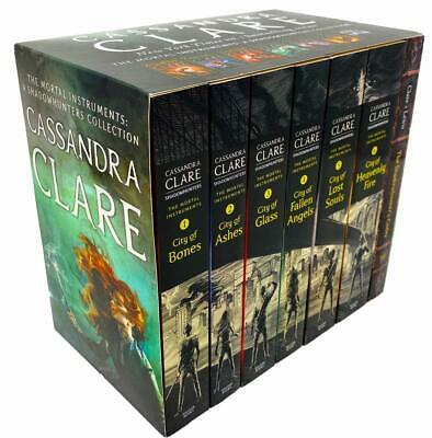 Cassandra Clare The Mortal Instruments A Shadowhunters 7 Books Collection Set • 18.99£