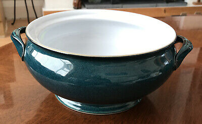 DENBY (Seconds) GREENWICH GREEN CASSEROLE DISH 26.5cm WITHOUT LID • 9£