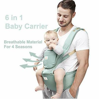 Baby And Child Carrier Hip Seat 6 In 1 Egornomic Designed Hands Free For All • 46.22£