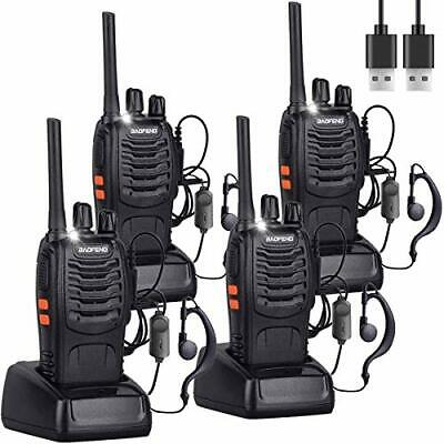 $ CDN113.66 • Buy Nineaccy Walkie Talkies Rechargeable Walkie Talkie Long Range 2 Way Radio Set