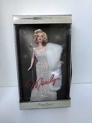 Marilyn Monroe Timeless Treasures Barbie Doll Collectors Edition From Mattel • 80£